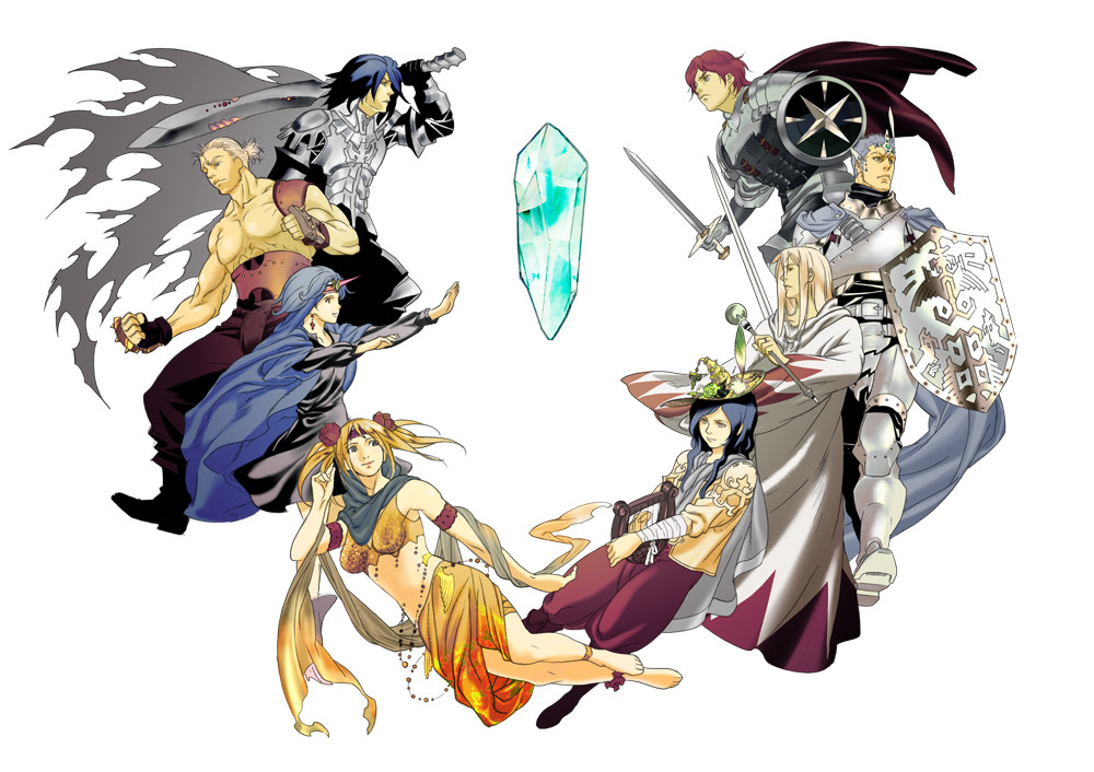 Final Fantasy Legends Concept Artwork
