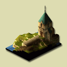 Orbonne Monastery Map (Final Fantasy Tactics)