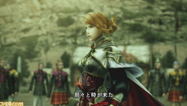 Final Fantasy Type-0: Caetuna (セツナ) Screenshot