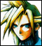 Final Fantasy VII: Cloud Strife Face Icon