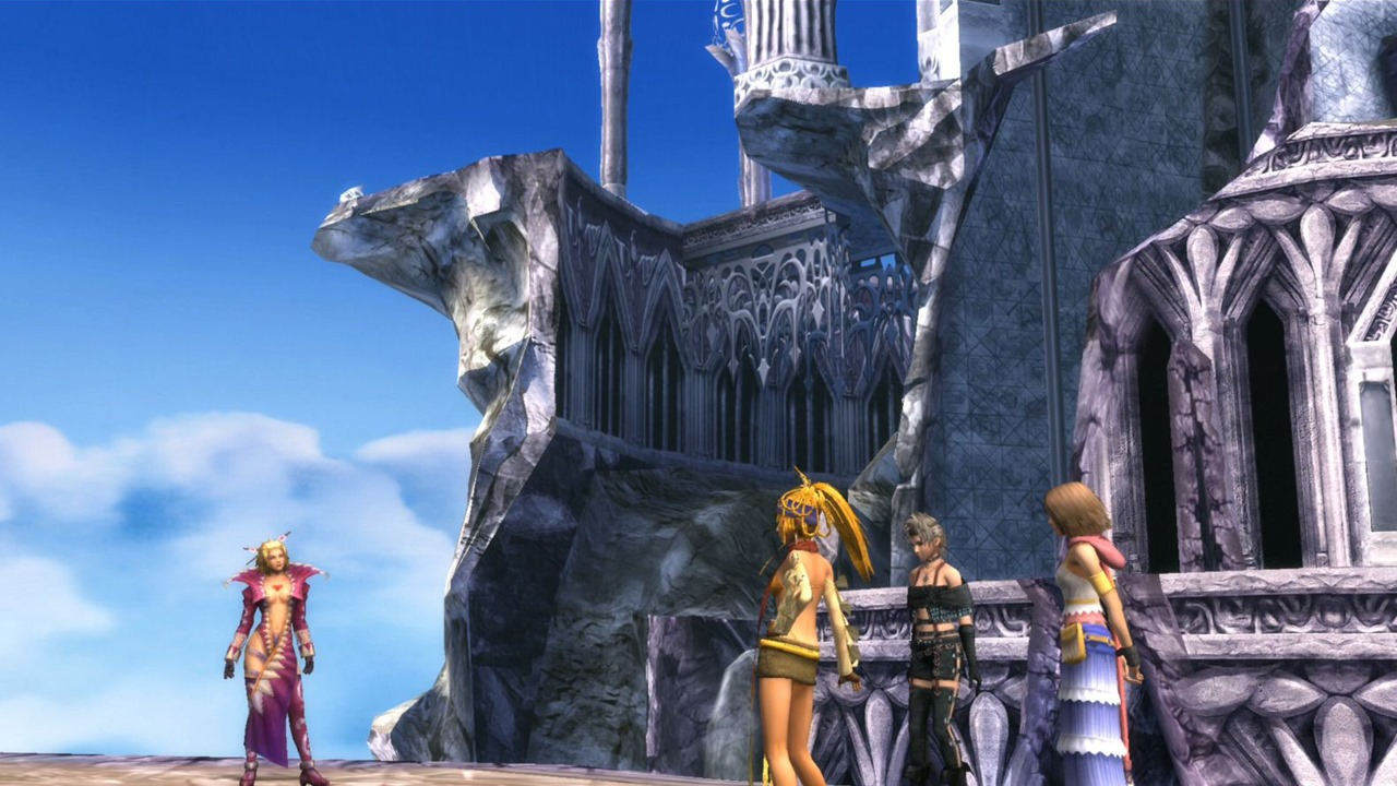 Final Fantasy X-2 HD Remaster: LeBlanc, Rikku, Paine, and Yuna