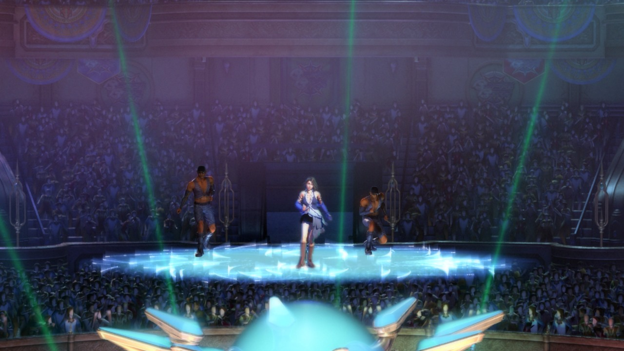 Final Fantasy X-2 HD Remaster: Yuna (Sonstress) on Stage