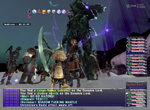 Final Fantasy XI: Battle Screenshot