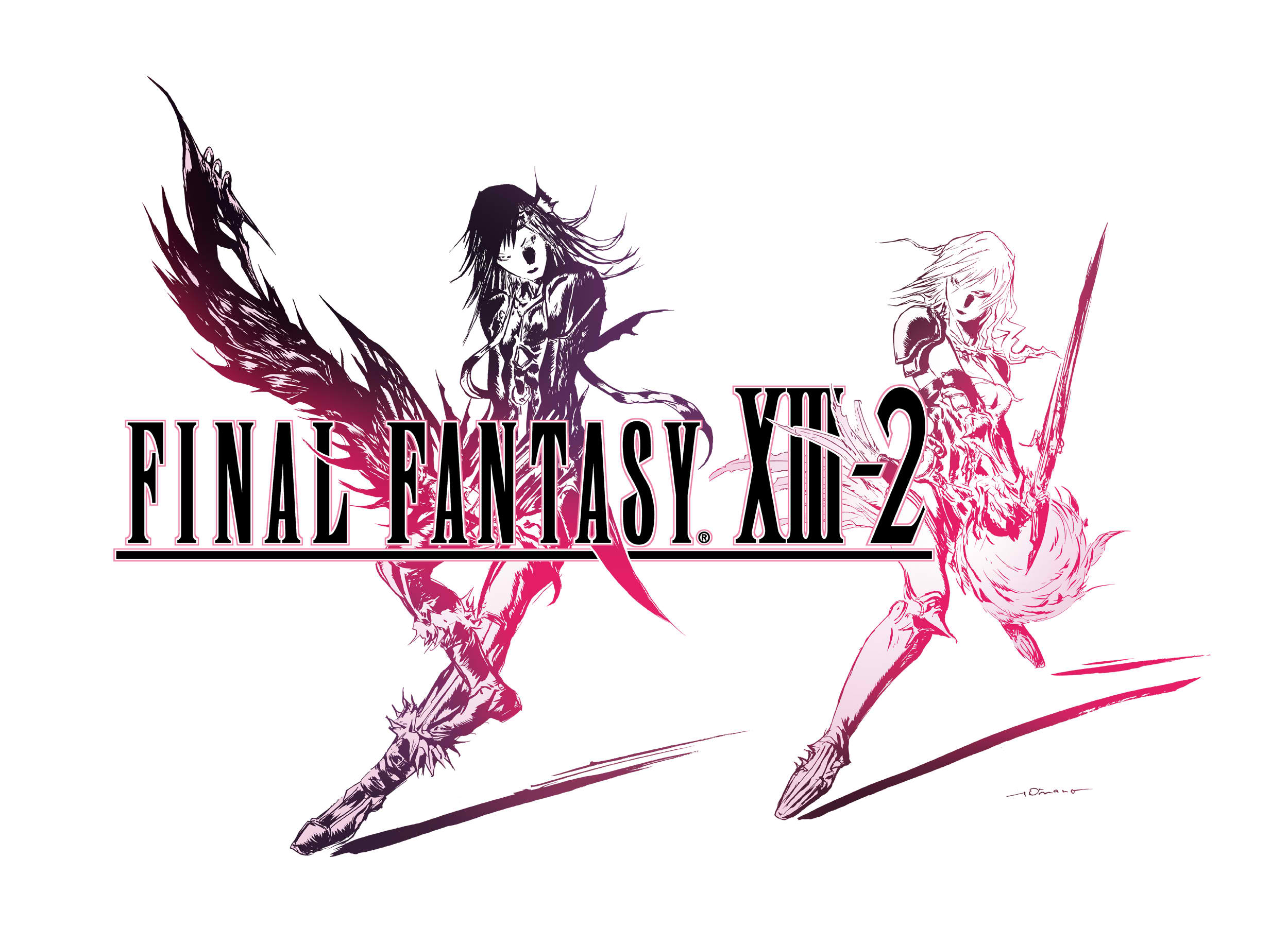 final fantasy xiii2 character renders and high