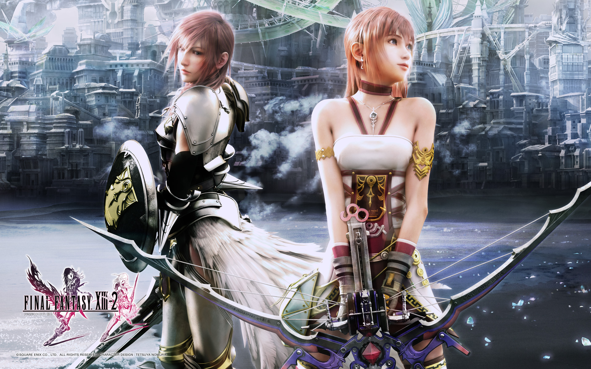 Final fantasy xiii serah sell out 1 3d 4