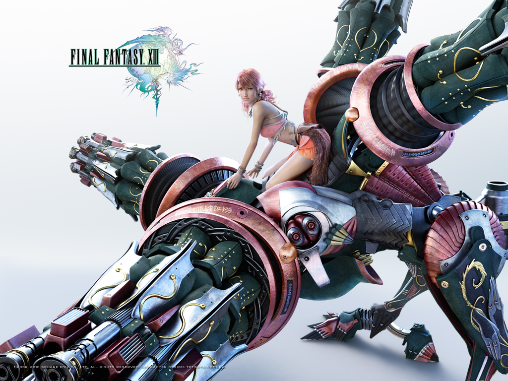 final fantasy xiii wallpapers - hope, lightning, serah, sazh, snow