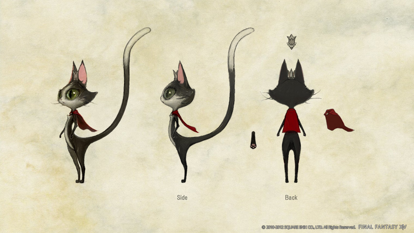 Final Fantasy XIV: Cat Concept Art