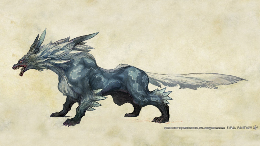 Final Fantasy XIV: Wolf Concept Art