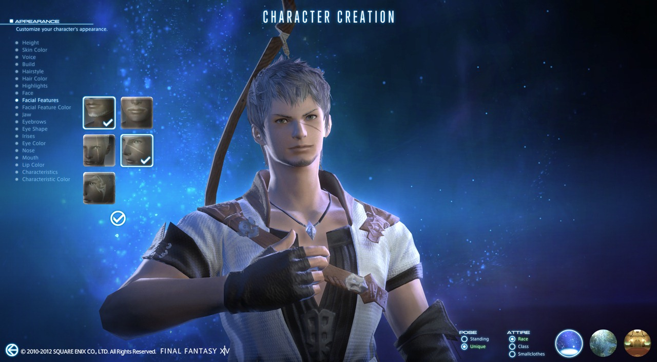 Final Fantasy XIV: A Realm Reborn - Character Creation