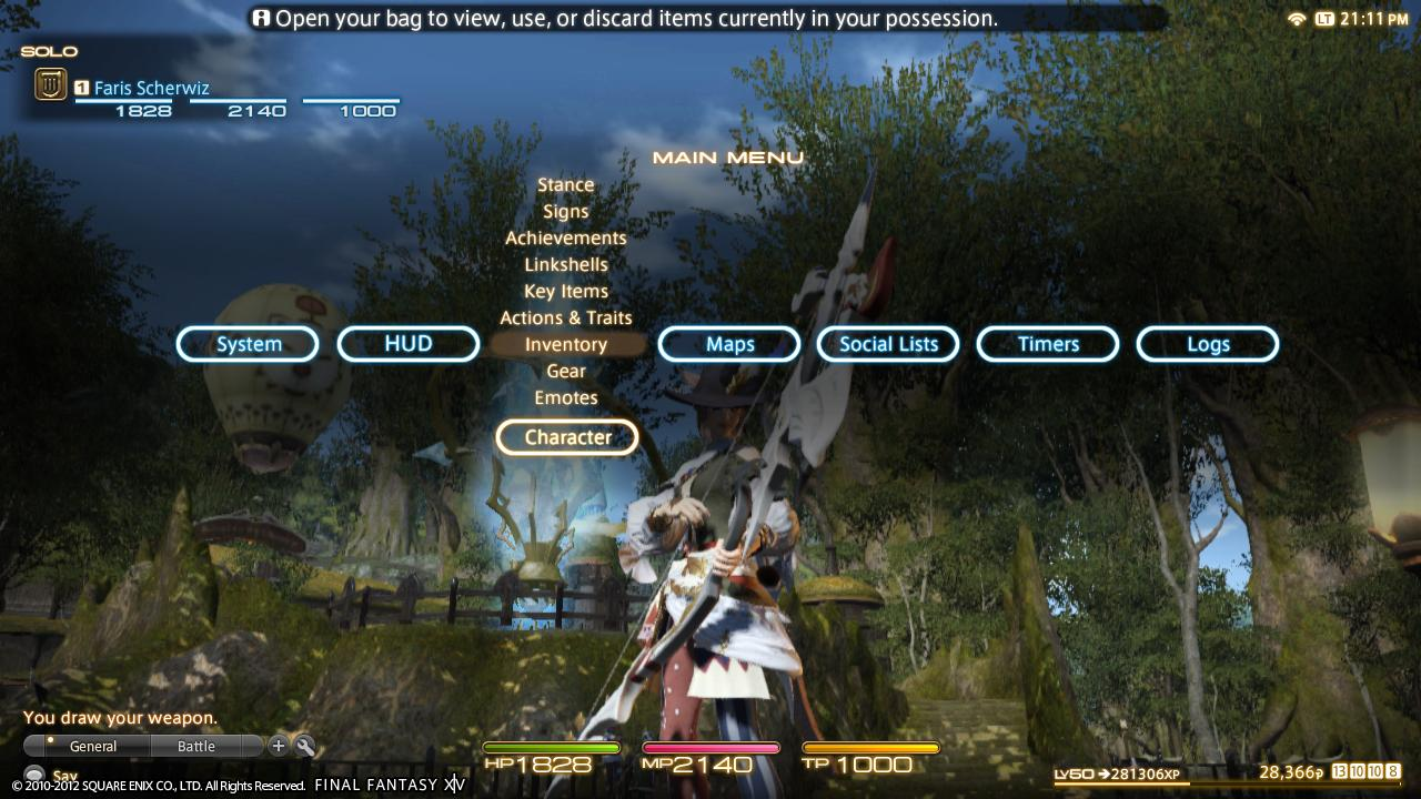 Final Fantasy XIV Screenshot - PS3 Version