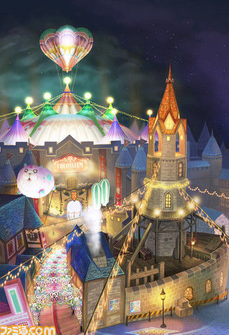 Kingdom Hearts 3D: Dream Drop Distance - Traverse Town (Screenshot)