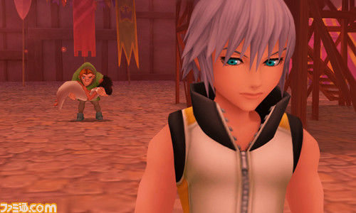 Kingdom Hearts 3D: Dream Drop Distance - Riku Screenshot