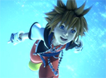 Kingdom Hearts 3D: Dream Drop Distance Sora Screenshot