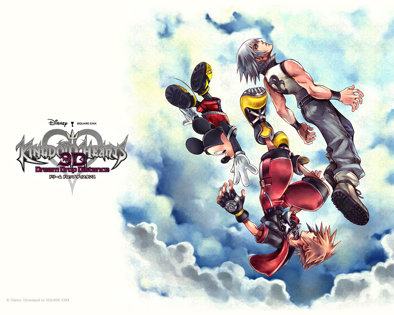 kingdom hearts 3d wallpapers  dream drop distance