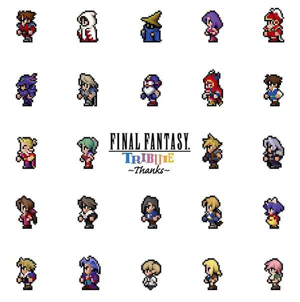 Final Fantasy Tribute ~Thanks~ Album Cover