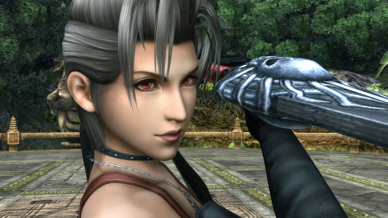Final Fantasy X Sexy paine was the most masculine ff character ever. also her