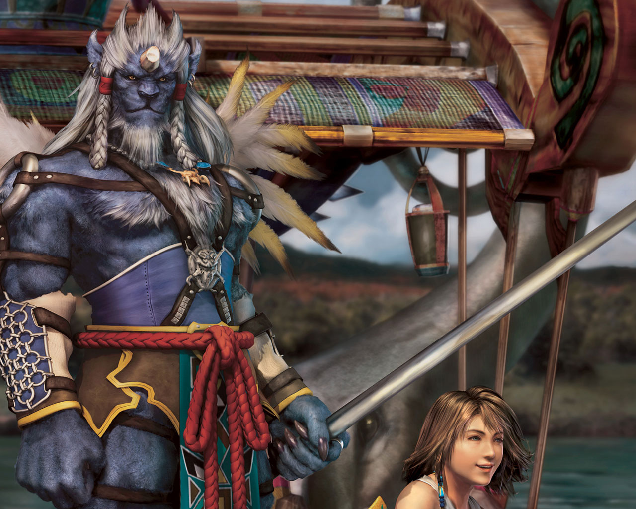 Final Fantasy X Wallpapers Tidus Yuna Rikku Wakka Lulu Auron
