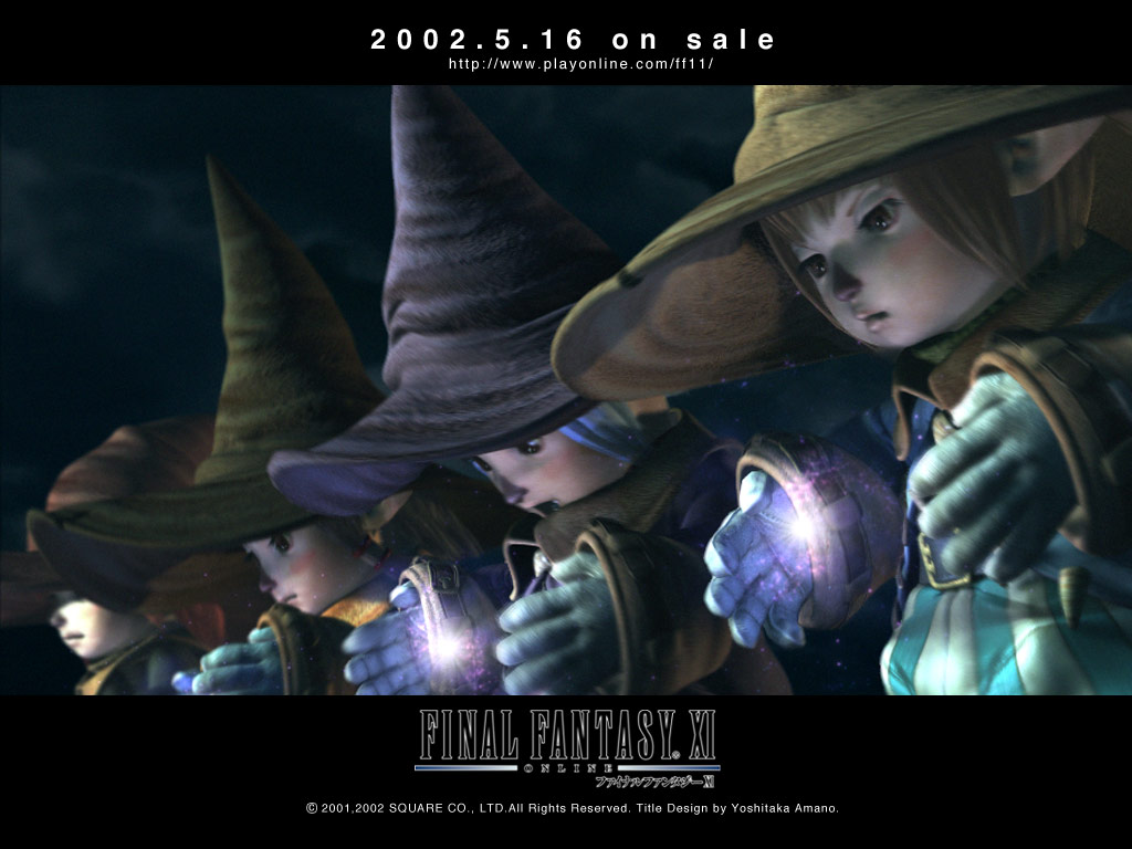 Final Fantasy Xi Wallpapers Elvaan Galka Hume Tarutaru Mithra
